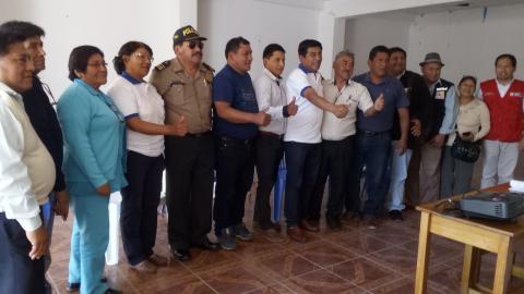 Acuerdo de Gobernabilidad Distrital fue firmado por primera vez en Huáncano - Pisco