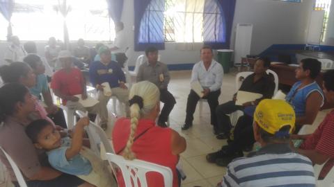 Candidatos del distrito de  Masisea firman Acuerdos de Gobernabilidad