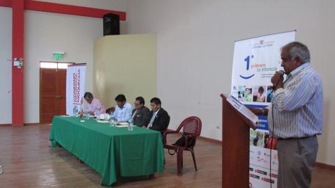 Mesa Regional de Moquegua en taller sobre Primera Infancia