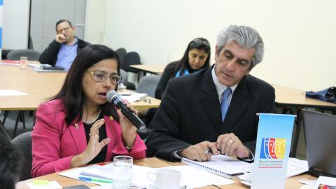 Mesa de Concertación para la Lucha contra la Pobreza evalúa políticas de igualdad de género