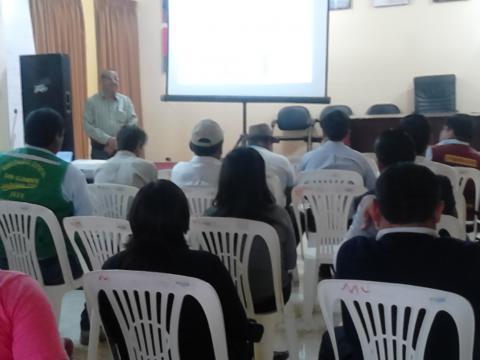 """Conversatorio """"Implicancias y estrategias para la prevención del Fenómeno El Niño"""" en Pisco"""