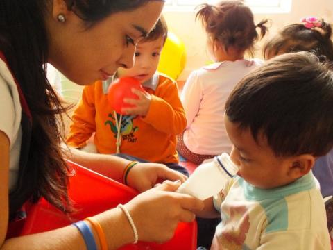 Diálogo sobre resultados de la campaña Buen Inicio del Año Escolar en Huacho
