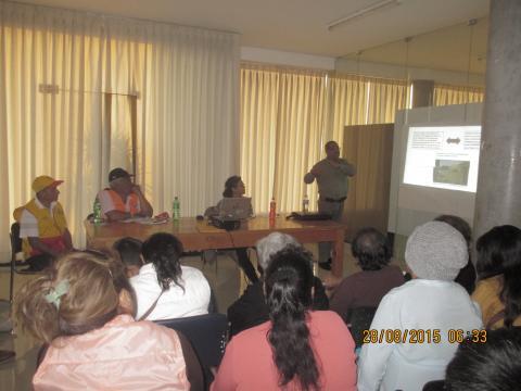 """Conversatorio distrital """"Implicancias y estrategias para la prevención del Fenómeno El Niño"""""""