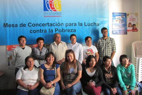 Jóvenes de Cusco realizaron pasantía en la Mesa de Concertación de Moquegua