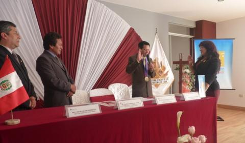 Juramentación de la Nueva Coordinadora Regional de la Mesa de Concertación