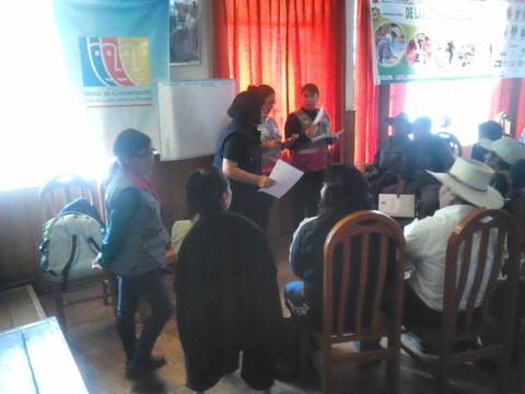 Taller de Fortalecimiento de Comunidades Campesinas de la Provincia de La Unión