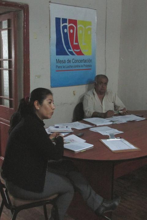 ERIKA MURILLO PAMO ASUMIO SECRETARIA TECNICA DE LA MESA DE CONCERTACIÓN PARA LA LUCHA CONTRA LA POBREZA DE MOQUEGUA