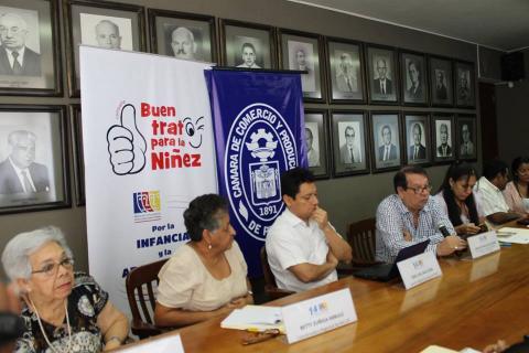 """CONFERENCIA DE PRENSA PARA CAMPAÑA """"BUEN TRATO PARA LA NIÑEZ"""""""