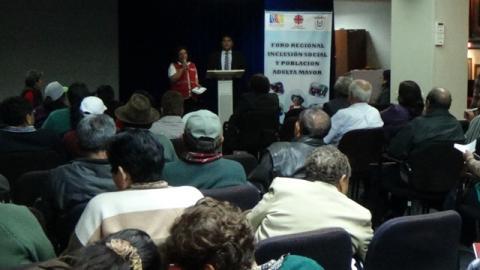 Foro Regional Inclusión Social y población Adulta Mayor