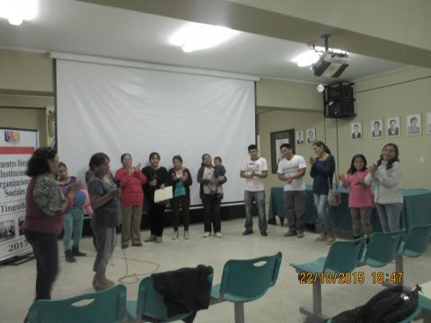 Reactivación de la Mesa de Concertación Para la Lucha Contra la Pobreza del distrito de La Tinguiña - Provincia de Ica