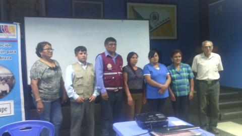 Se reactiva la Mesa de Concertacion Para la Lucha Contra la Pobreza del distrito de Salas Guadalupe - Provincia de Ica