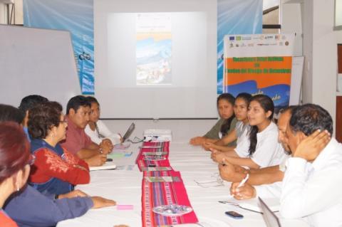 La Mesa de Concertación para la Lucha Contra la Pobreza, con entidades Públicos y Privadas, realizó la ceremonia de lanzamiento Vacaciones Interactivas de Gestión del Riesgos de Desastres