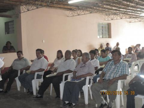 Mesa de Concertación de la Provincia de Palpa realiza Pre - Encuentro sobre el Derecho Humano al Agua y Reactiva la Mesa de Concertación en el distrito de Santa Cruz - Palpa