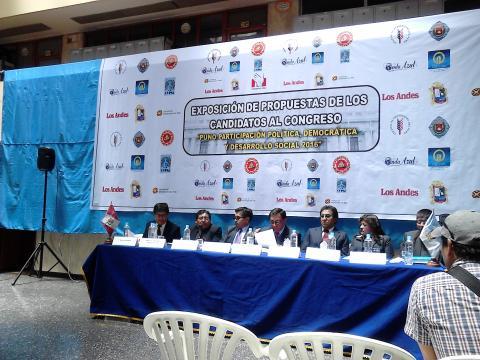 Conferencia de Prensa del Comité Interinstitucional de participación democrática y desarrollo Regional