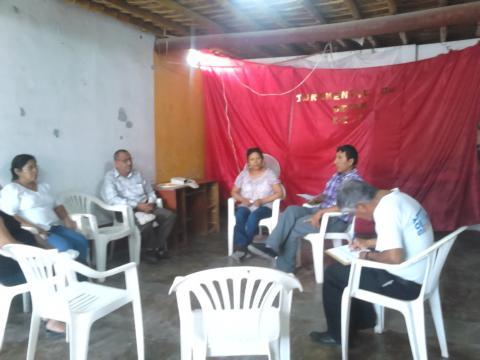 Pre Encuentro sobre el Derecho Humano al Agua en el distrito de Llipata - Provincia de Palpa.
