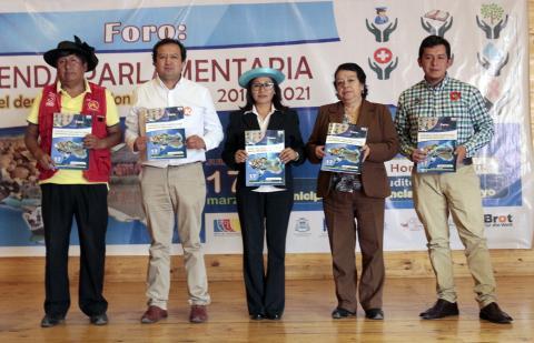 Agrupaciones políticas firman Agenda Parlamentaria por Junín