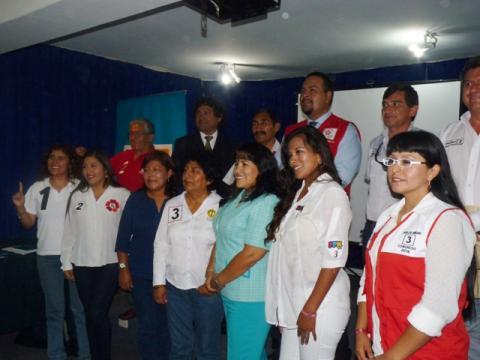 CANDIDATOS Y CANDIDATAS AL CONGRESO DE LA REPUBLICA POR LA REGIÓN TACNA FIRMAN ACTA DE COMPROMISO