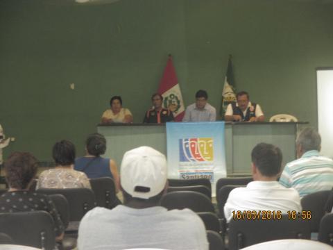 """Foro distrital """"Implicancias y estrategias para la prevención del Fenómeno El Niño"""""""