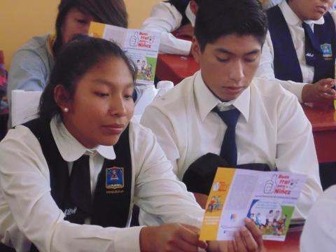 Reunión del  Consejo Directivo Regional para la Erradicación del Trabajo Infantil en Moquegua