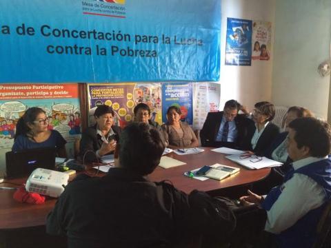 Reunión de Trabajo de Grupo de Seguimiento Concertado - Dimensión Social
