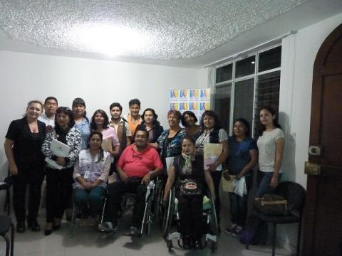 MCLCP-Lambayeque realizó taller para fortalecer las capacidades de la Junta de Usuarios de los servicios de salud (JUS) en estrategias de diálogo y concertación