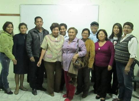 """Foro """"Por una vida digna para el adulto mayor de San Juan de Lurigancho"""""""