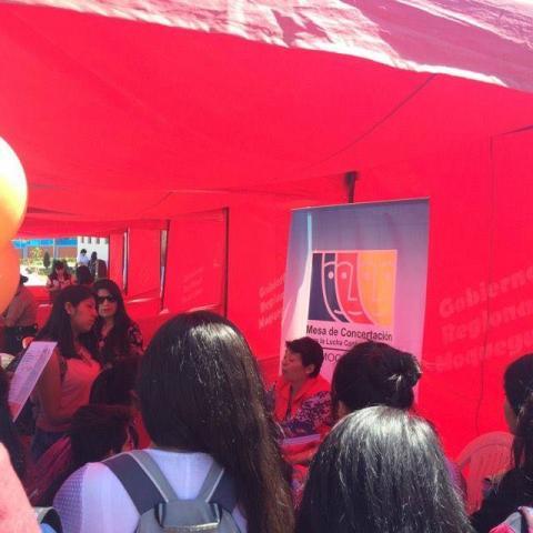Feria Informativa sobre violencia de género
