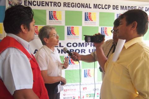 Invocan a la prensa a sumarse a la propuesta de la creación de la Jefatura Regional de RENIEC