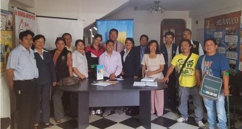 Temática de Personas con Discapacidad de la MCLCP Huánuco organiza actividades por Día Nacional de Personas con Discapacidad