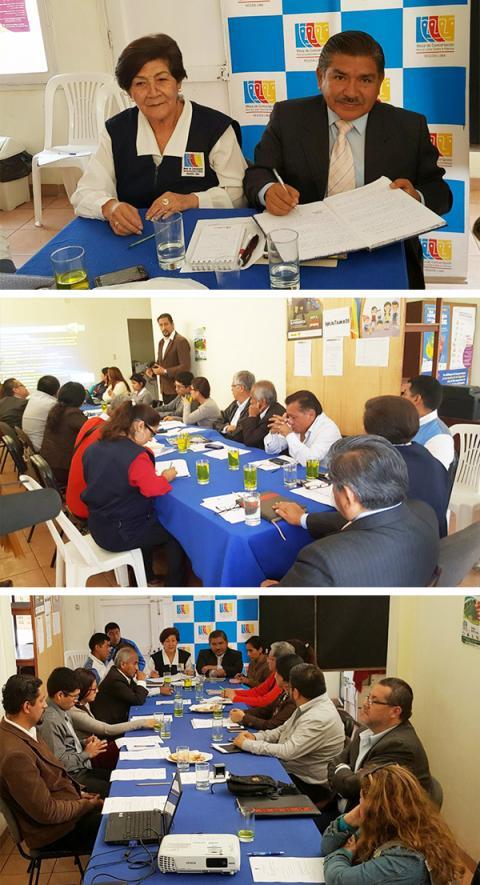 Especialistas del Programa Nacional de Inversión en Salud del Ministerio de Salud exponen el avance del estudio de preinversión a nivel de factibilidad del Hospital Regional de Huacho
