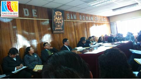 El comité ampliado provincial de la MCLCP San Román- Juliaca, coadyuvó a la conformación del Comite de Vigilancia y Transparencia Ciudadana