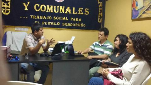 Reunión Seguimiento Sectorial para la actualización del Padrón Nominal en la Provincia de Huancabamba en los Distritos de Sapalache, Sóndor y Sondorillo