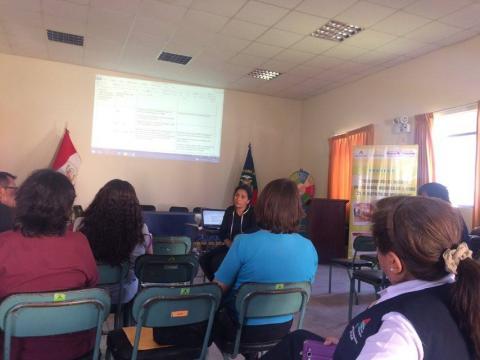 Reunión técnica para la elaboración Plan Articulado de Lucha contra la Anemia