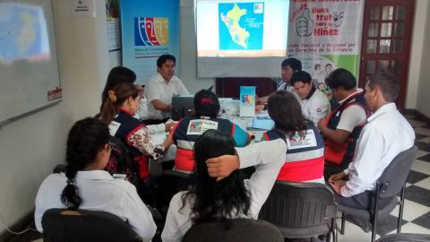Reunión Técnica y programación de actividades conjuntas con los gestores locales del Programa Nacional Tambos - Huánuco