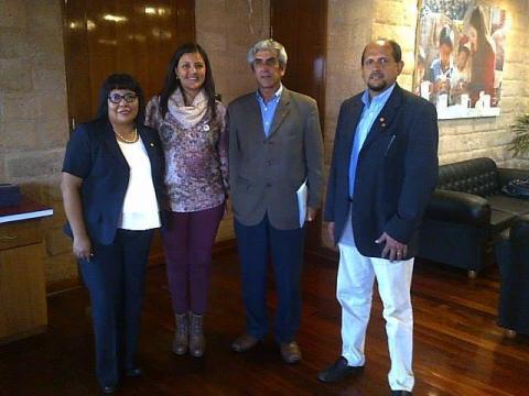 Reunión de trabajo MCLCP Arequipa-Gobierno Regional de Arequipa