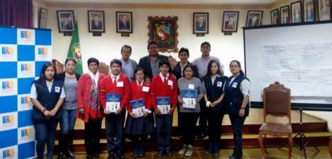 Taller de  Conformación del Consejo Consultivo de Niños, Niñas y Adolescentes en la Provincia de Canta