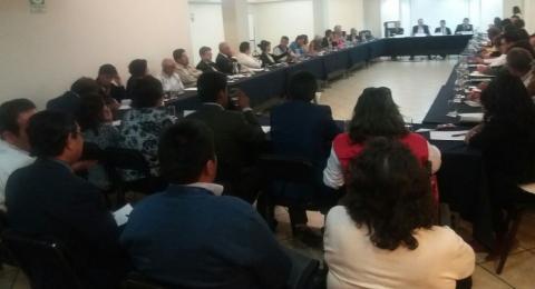 Reunión de Consulta de la Comisión Presidencial de Integridad
