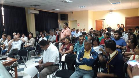 """Diálogo Regional """"El Acuerdo de Gobernabilidad 2015-2018, un aporte para el Desarrollo de la Región Ica"""""""