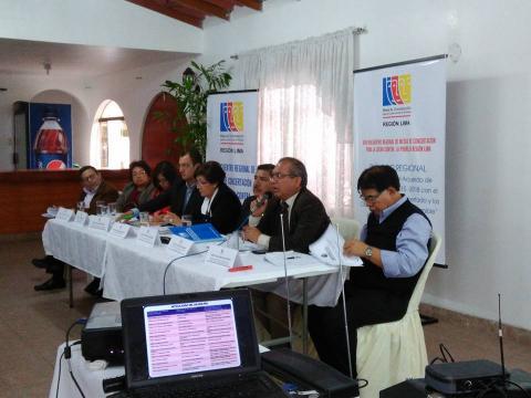 XVIII Encuentro de Mesas de Concertación Para la Lucha Contra la Pobreza Región Lima