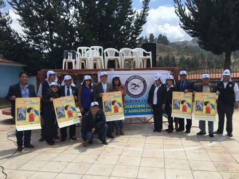 Feria por los Derechos del Niño, organizado por la MCLCP y el COMUDENNA Cusco