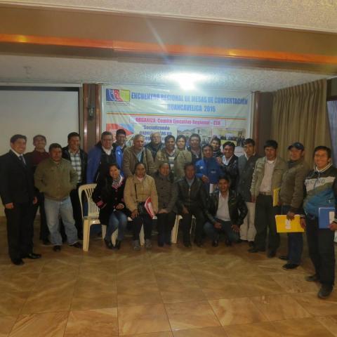 Encuentro Regional de Mesas de Concertación, avances en el seguimiento concertado a los Acuerdos de Gobernabilidad 2015 - 2018