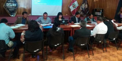 REUNIÓN DEL CONSEJO REGIONAL DE COMUNIDADES CAMPESINAS-CORECCAM