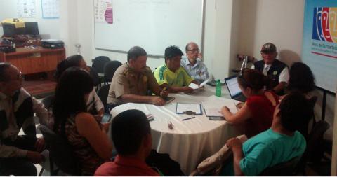 Reunión de Trabajo de la Mesa Temática de Personas con Discapacidad de la MCLCP Huánuco