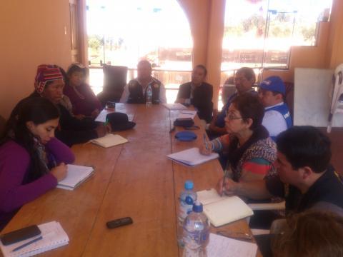 La MCLCP y el MIDIS se reunieron para el levantamiento de información de Plataforma Itinerante Acción Social de la región Puno.