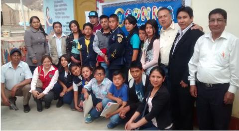 En Huánuco, se conformó el Consejo Consultivo de Ninas Niños y Adolescentes - CCONNAS