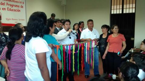 La MCLCP Huánuco participa en ceremonia de reconocimiento a beneficiarios del programa de reparaciones en educación 2016