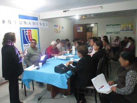Reunión del Comité Ejecutivo Regional de la Mesa de Concertación Para la Lucha Contra la Pobreza de Ica