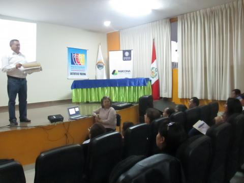Seguimiento Concertado al Acuerdo Distrital Concertado por la Gobernabilidad de Parcona 2015-2018