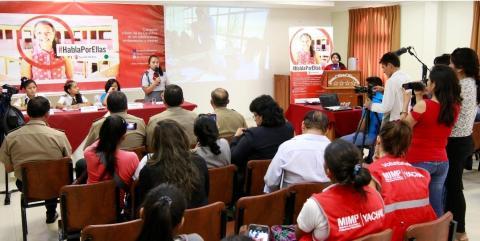Adolescentes de Huánuco dan a conocer los compromisos que lograron de sus autoridades para protegerlas de la violencia sexual y el embarazo