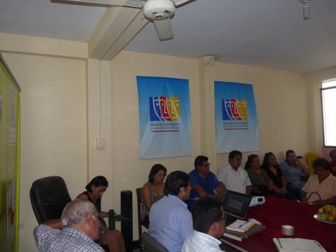 Reunión del Comité Ejecutivo Regional de la MCLCP-Ucayali y Grupos de Seguimiento Concertado